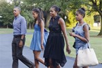 Οικογένεια Obama: Εικόνες από τη μετακόμιση στη νέα κατοικία τους