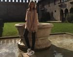 Τζένη Μπαλατσινού: Δείτε φωτογραφίες από το ταξίδι-αστραπή της!