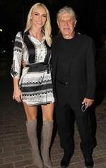 Βραδινή έξοδος με την κόρη του για τον Έλληνα ηθοποιό
