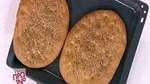 Λαγάνα, μελιτζανοσαλάτα & χούμους από την Αργυρώ Μπαρμπαρίγου