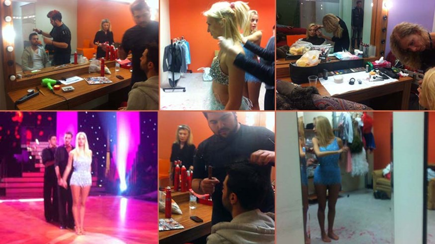 Μόνο στο FTHIS.GR: Τι κάνουν οι celebrities πριν  ξεκινήσει το 11o live του DWTS3! Δείτε την πρόβα της Δούκισσας Νομικού (φωτογραφίες - video)