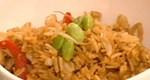 Tηγανητό κινέζικο ρύζι με ψαρονέφρι και πιπεριές από την Αργυρώ