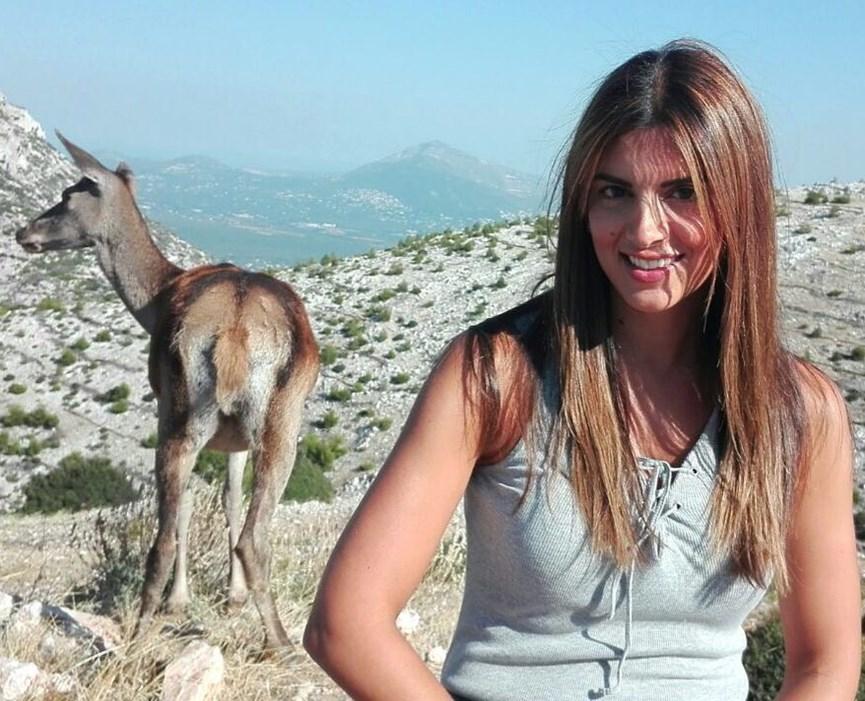 Η νέα φωτογραφία της Σταματίνας Τσιμτσιλή στο instagram.