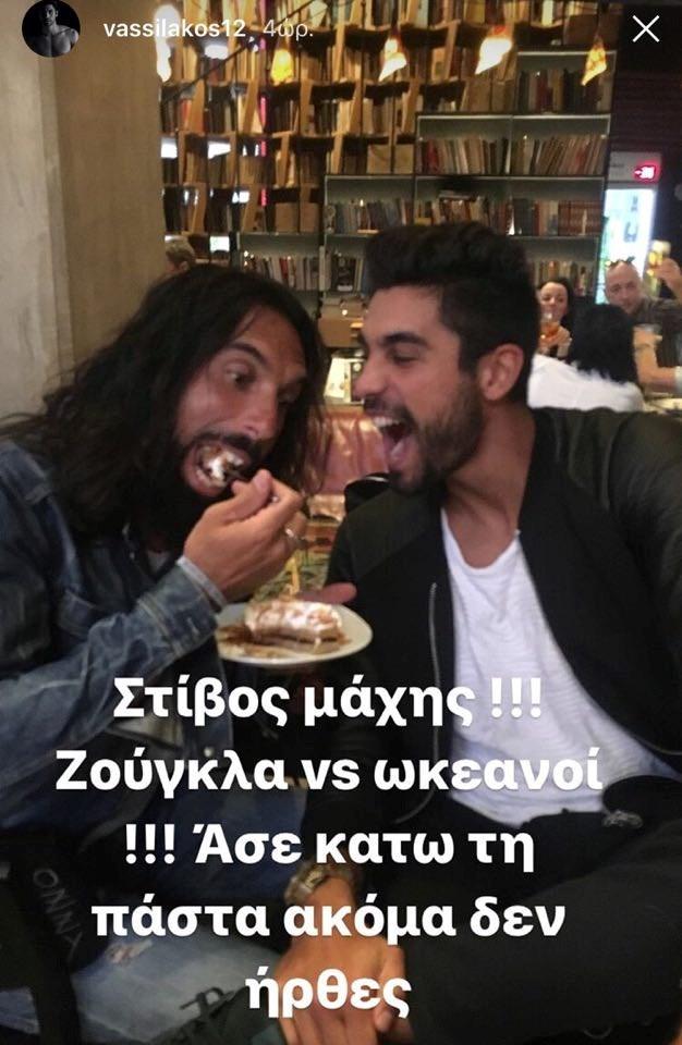 Νίκος Παπαδόπουλος και Παναγιώτης Βασιλάκος