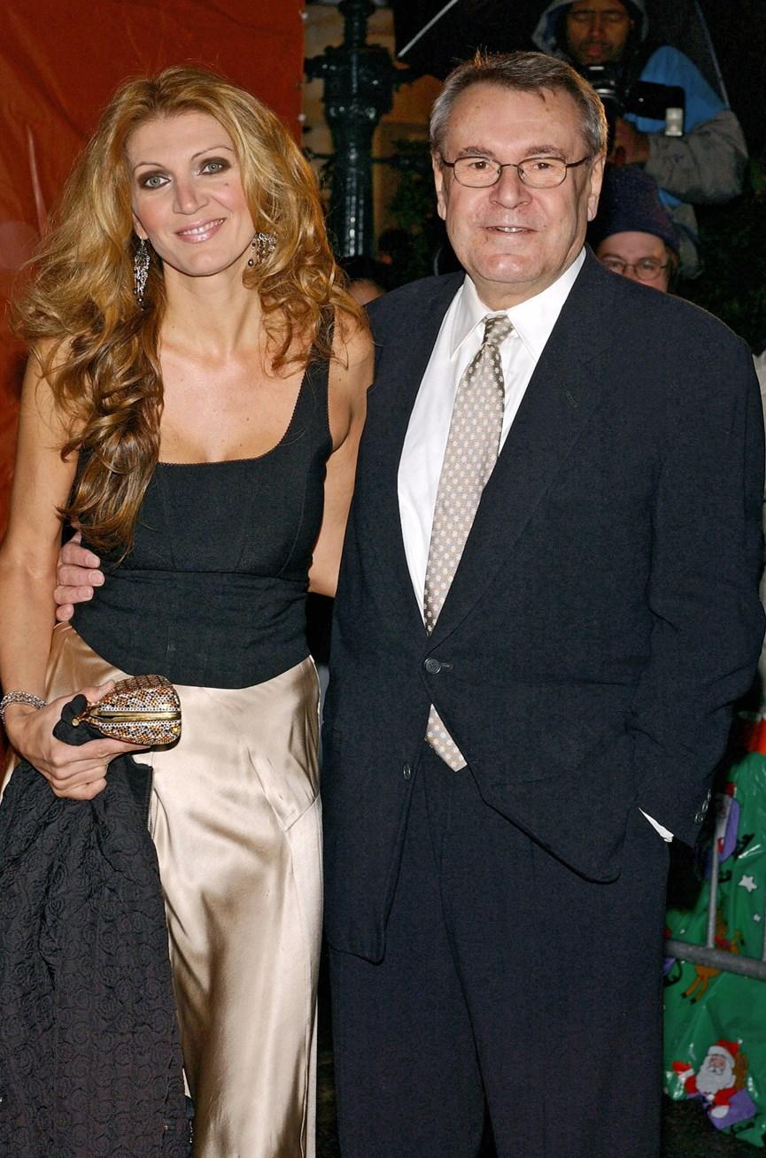 O Μιλος Φορμαν με τη συζυγο του