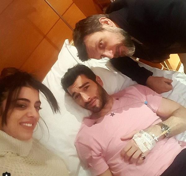Ο Μάνος Ιωάννου στο νοσοκομείου