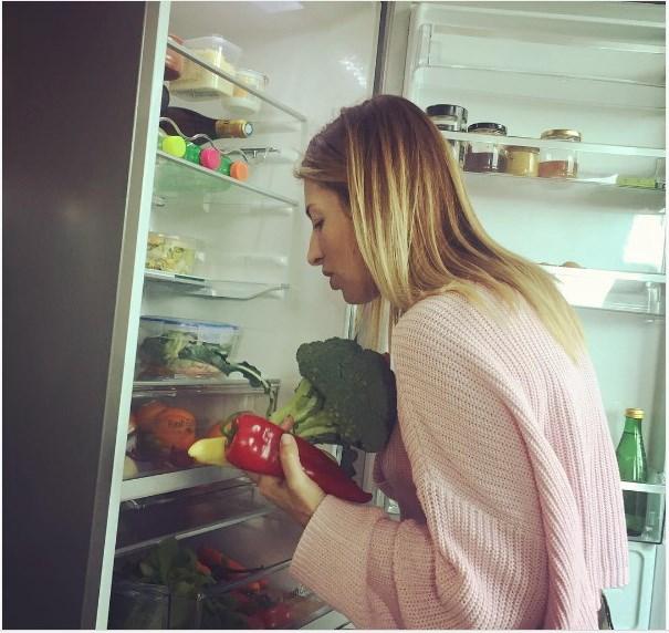 Η φωτογραφία της Μαρίας Ηλιάκη από τη κουζίνα της.