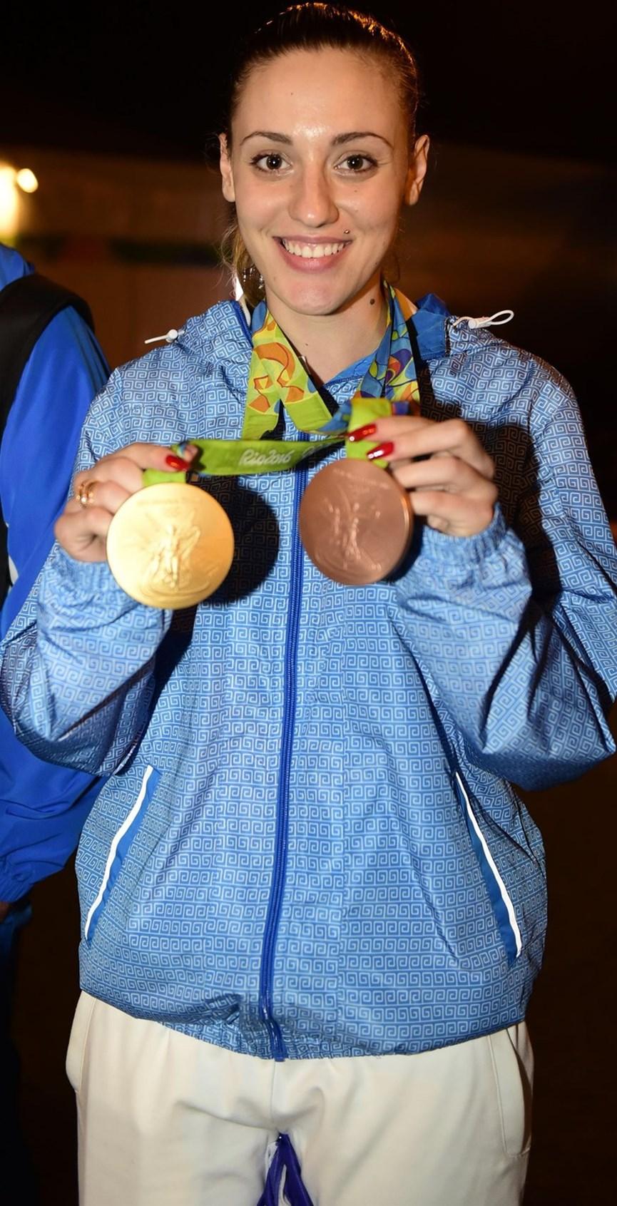 Η Άννα Κορακάκη στο Ρίο