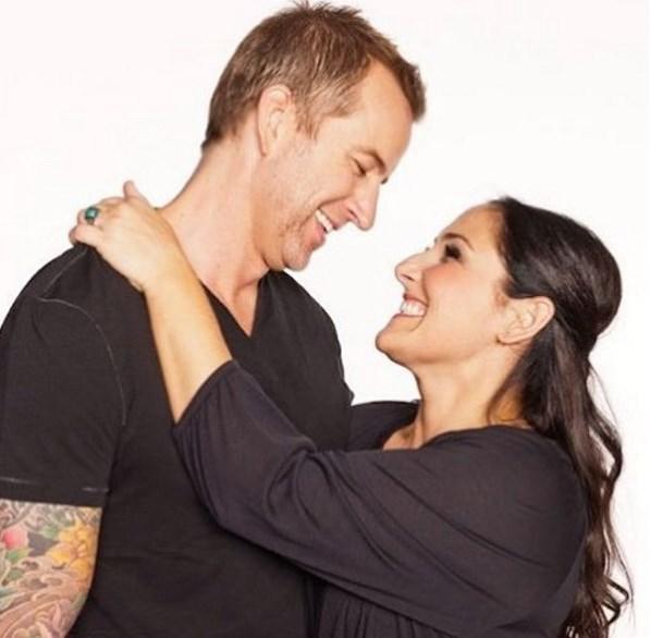 Η Ricki Lake και ο πρώην σύζυγός της, Christian Evans