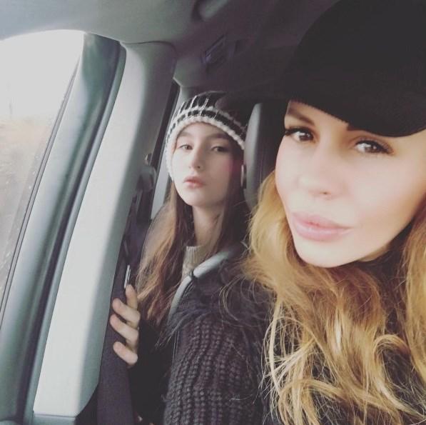 Η Ιωάννα Λίλη με την κόρη της