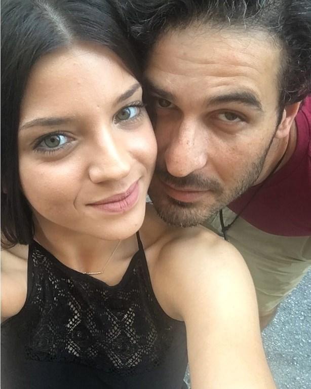 Ο Νικόλας Μακρής και η τραγουδίστρια Μαρίλια Μητρούση