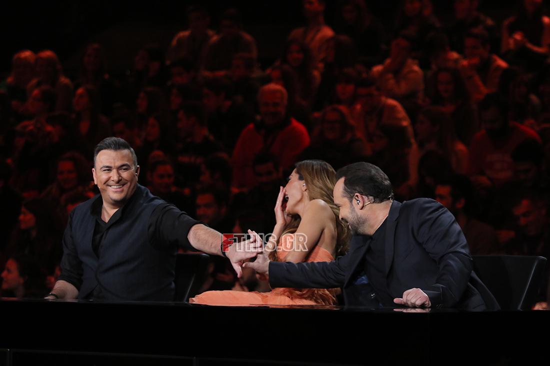Ο Αντώνης Ρέμος, η Δέσποινα Βανδή και ο Κώστας Μακεδόνας στην κριτική επιτροπή του Rising Star