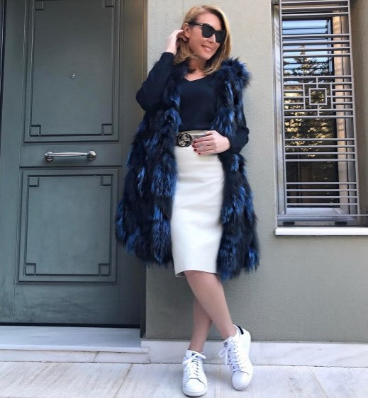 Η Τατιάνα Στεφανίδου με sneakers