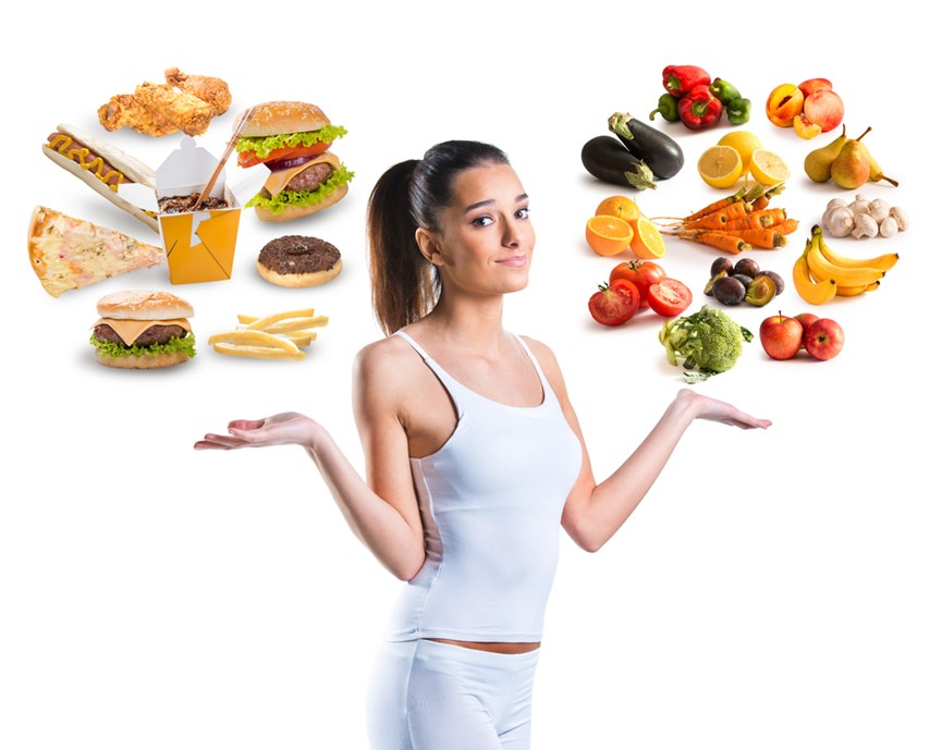 Υγιεινές και ανθυγιεινές επιλογές φαγητού