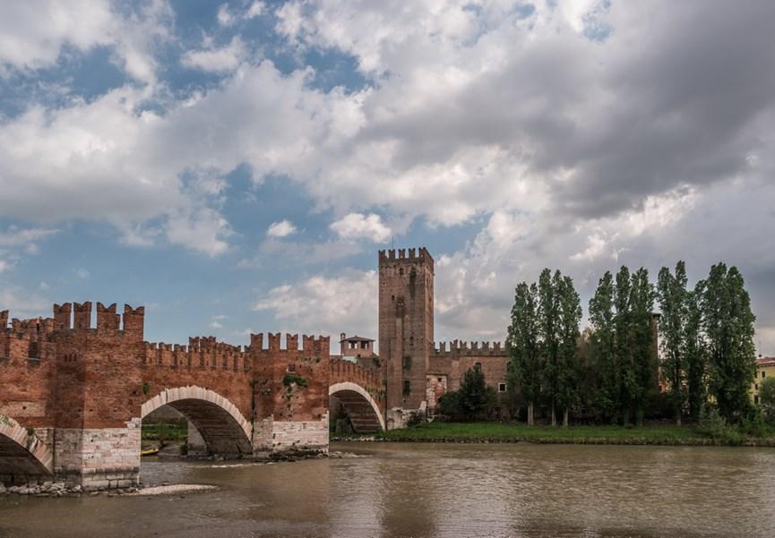 Κάστρο στη Βερόνα της Ιταλίας