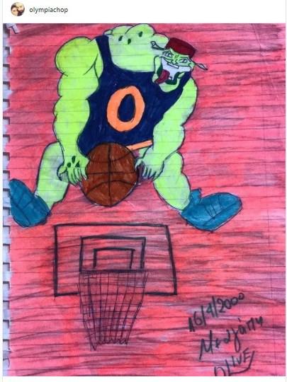 Η ζωγραφιά της Ολυμπίας Χοψονίδου